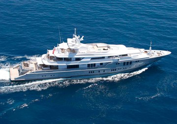 Siren yacht charter in Monaco