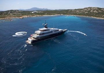 Slipstream yacht charter in French Riviera