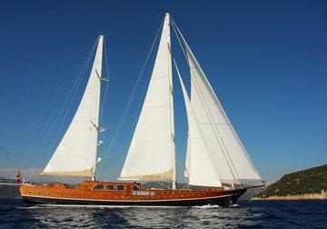 Carpe Diem V yacht charter in Turkey