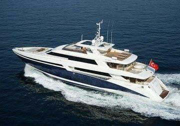 Tatiana I yacht charter in The Balearics