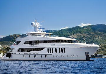 Liquid Sky yacht charter in Ibiza