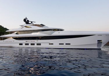 Baba's charter yacht