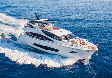 Blue Infinity charter yacht
