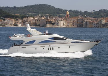 White Star charter yacht