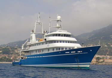Blue Shadow charter yacht