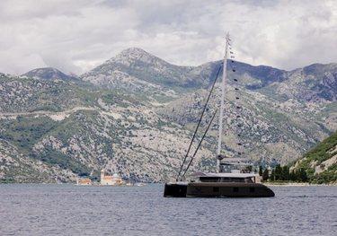 Gyrfalcon charter yacht
