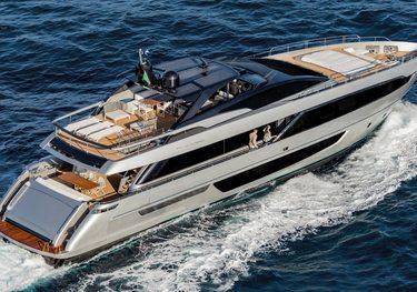 Basilic charter yacht