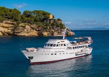 Odyssey III charter yacht