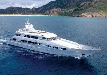 Attitude charter yacht