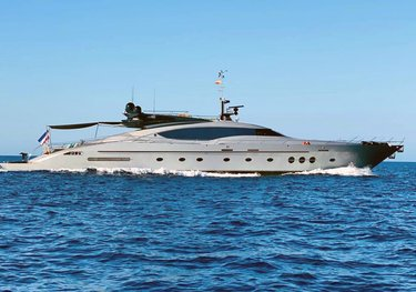 Escape II charter yacht