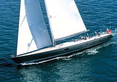 Silvertip charter yacht