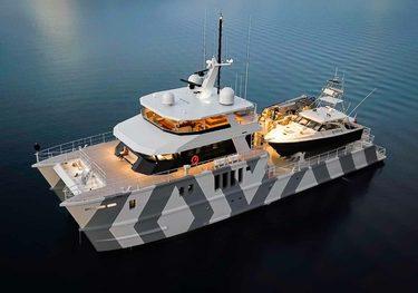 The Beast charter yacht