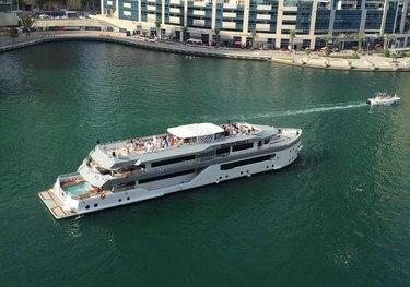 Sunrise charter yacht