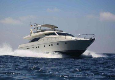 Santana charter yacht