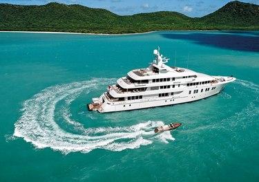 Invictus charter yacht