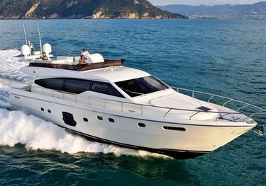 One More Time charter yacht