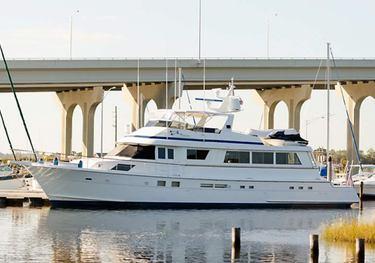 Nickeline charter yacht