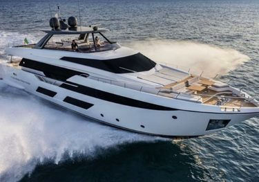Eagle One charter yacht