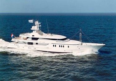 Jaz charter yacht