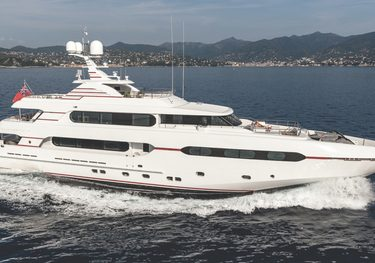 Audaces charter yacht
