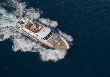 Dune charter yacht