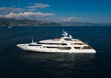 The Wellesley charter yacht