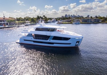 Epic charter yacht
