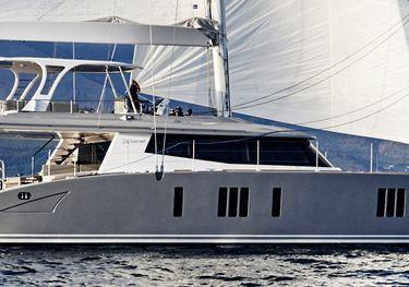 Blue Deer charter yacht