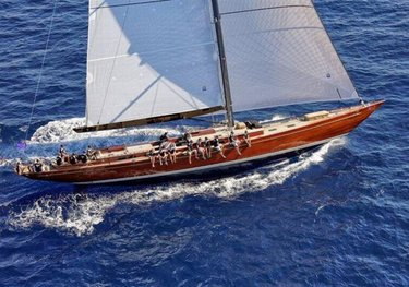 Tempus Fugit charter yacht