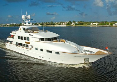 Aquasition charter yacht