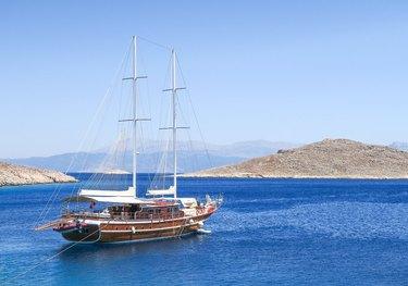 Athen.A charter yacht