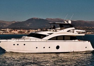 Krys Kar charter yacht
