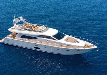 Infinity Eight charter yacht