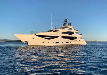 Exodus charter yacht