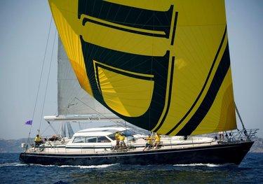 Vivid charter yacht