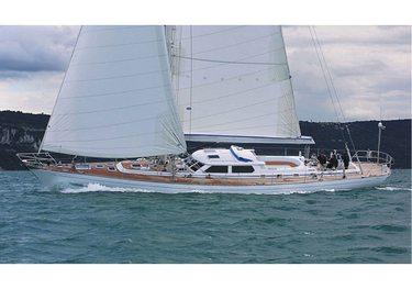 Plum charter yacht