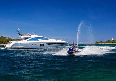 Toffee Crisp charter yacht