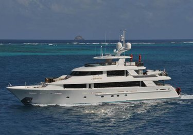 Aphrodite charter yacht