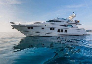 Schatzi charter yacht