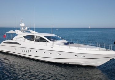 Ellery A charter yacht