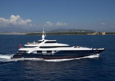 Arience charter yacht