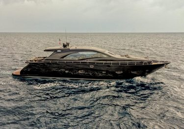 Black Magic charter yacht