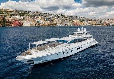 Siniar charter yacht