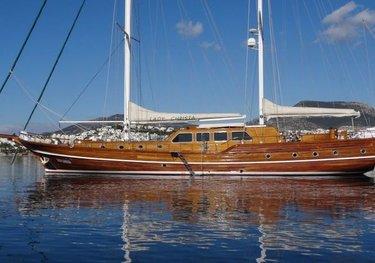 Whisper charter yacht