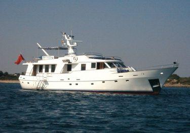 Atlantic Lady charter yacht