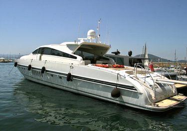 Disco Volante charter yacht