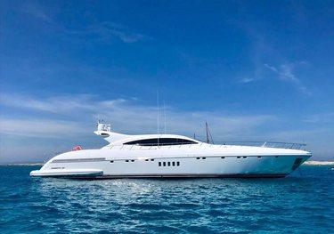Belisa charter yacht