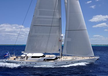 Squall charter yacht