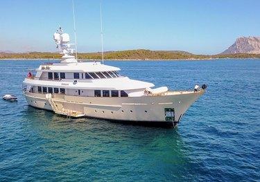 Lady Goodgirl charter yacht