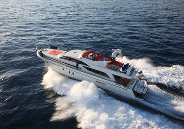 Jina I charter yacht